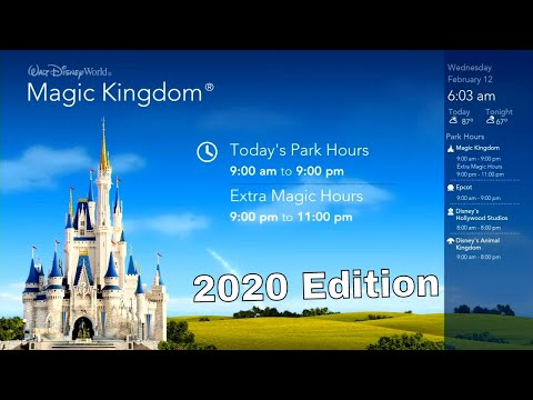 Walt Disney World Today Resort TV Loop - February 2020 | WDW