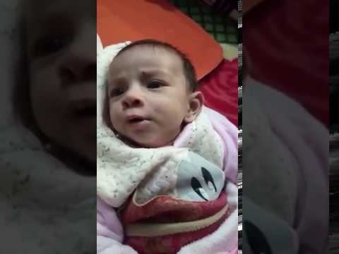 3 Month Old Baby Saying I Love You To His Mom Cute Youtube