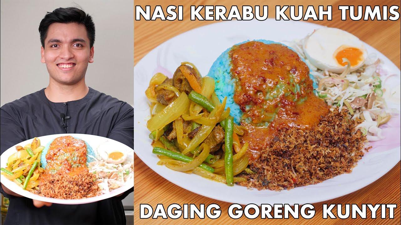 Download Nasi Kerabu KUAH TUMIS Tambah Lauk DAGING KUNYIT   Resepi Mudah Buka Puasa   Destinasi TV