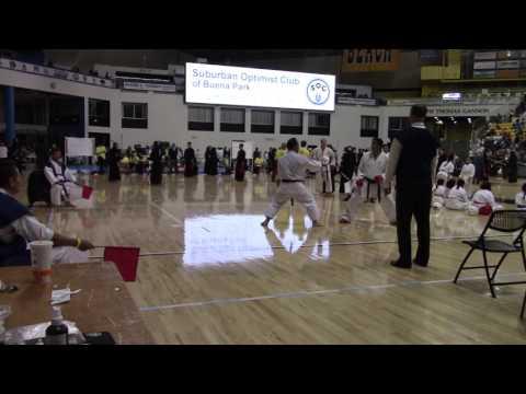 Nikkei Games 2016 - Guillermo Acuña - Kumite