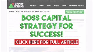 Boss Capital Strategy for Success!