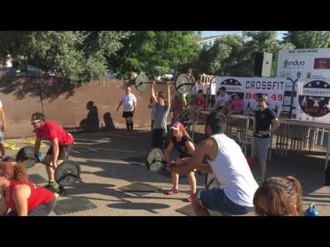 Zona de Crossfit Box49 en el Casino de Guadalajara (sábados de verano)