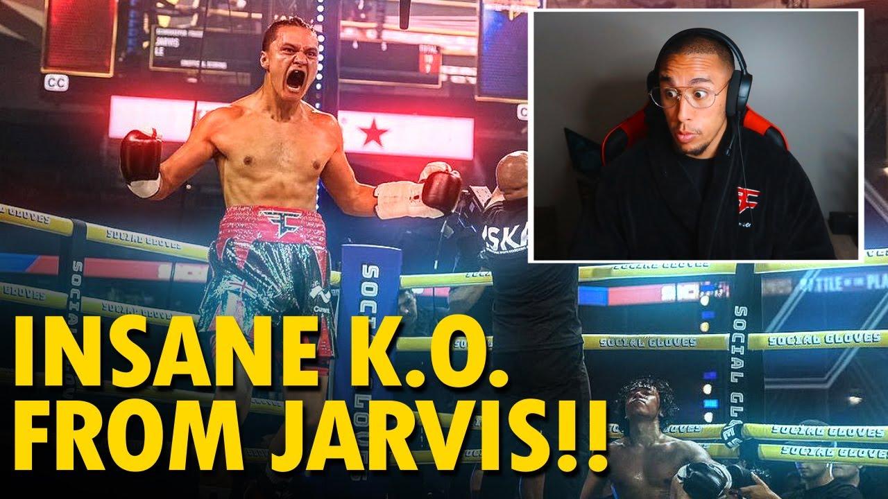 Reacting To FaZe JARVIS KO vs Michael Le..