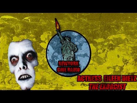 with Eileen Dietz star of the Exorcist on New York Cine Radio