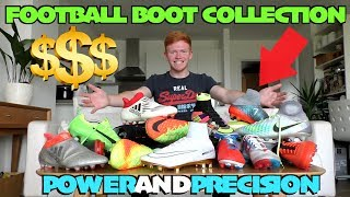 5,000 football boot collection 2017 | nike, adidas, new balance and more!