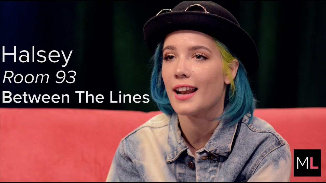 Halsey Explains Why Room 93 Is Her \'Sonic Little Black Book\' - YouTube