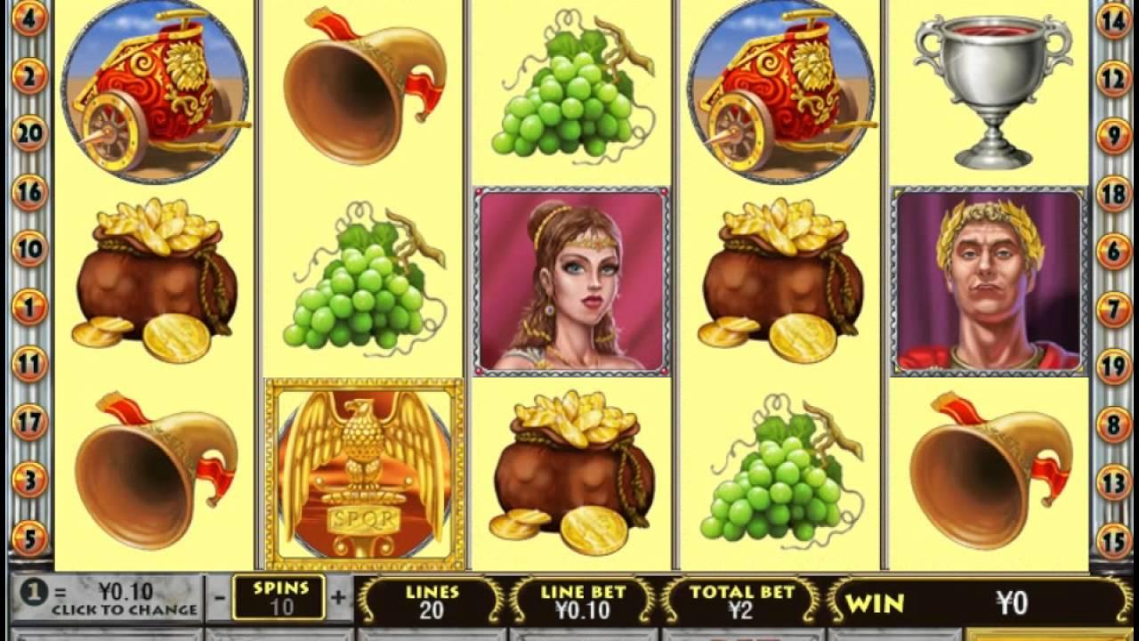 Free Slot Games Rome Glory
