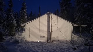 Build small tent in big tent. Sleep in tent.