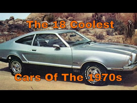 The 18 Coolest Cars of the 1970s