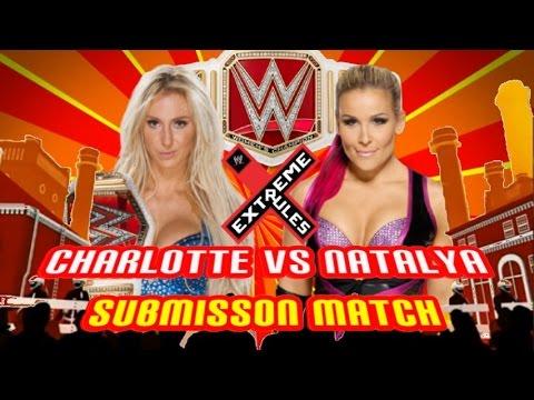 Image result for charlotte vs natalya extreme rules