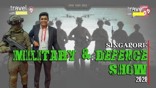 Travel With Chatura | Singapore Military & Defence Exhibition  2020 (Vlog 229) (ENG SUB) Thumbnail