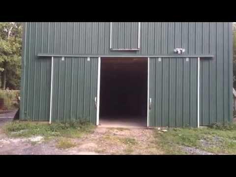 Magic barn door opener
