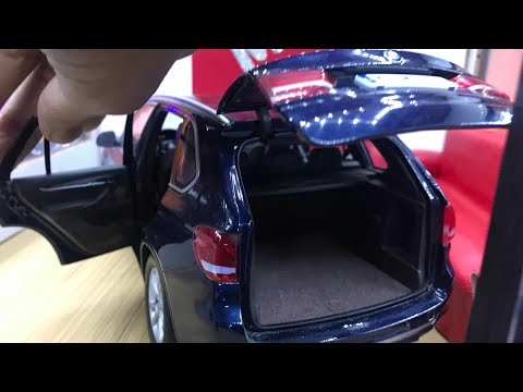 Diecast Unboxing- 2014 BMW X5 Series Xdrive 1/18 BMW AG Paragon