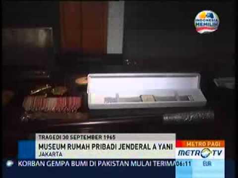 Rumah Pribadi Jendral Ahmad Yani sekarang di jadikan Museum