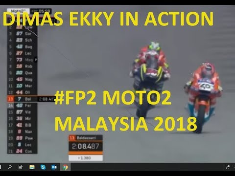 DIMAS EKKY PRATAMA BERAKSI DI MOTO2 MALAYSIA 2018!!! Membawa nama INDONESIA di kancah DUNIA Mp3