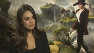 Oz the Great and Powerful: Mila Kunis on her