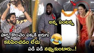 Naga Chaitanya Making Hilarious Fun With Viva Harsha || Savyasachi Movie Team Funny Interview || TWB