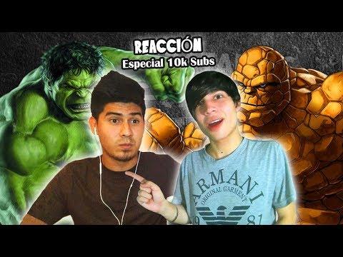 Hulk vs La Cosa. Épicas Batallas de Rap del Frikismo (VÍDEO REACCIÓN) | Especial 10.000 Subs