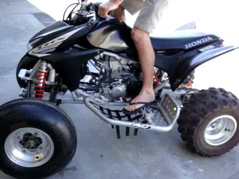 2005 Honda TRX 450R ENGINE Motor  YouTube