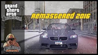 Grand Theft Auto: San Andreas » Remastered 2016 (Winter Edition)   Gameplay ᴴᴰ