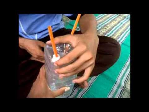 Praktikum Fisika SMK N Pasirian - Air Mancur di dalam botol ( Hukum Boyle )