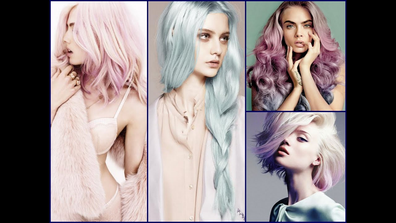 Hair Color Trend – Pretty in Pastels