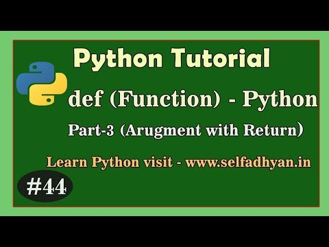 Function in Python (3) - Learn Python in Hindi | Python Tutorial for class 11 and class 12 thumbnail