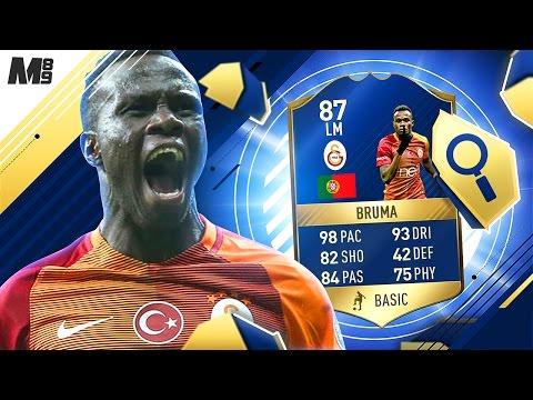 FIFA 17 TOTS BRUMA REVIEW   TOTS BRUMA 87   FIFA 17 ULTIMATE TEAM PLAYER REVIEW