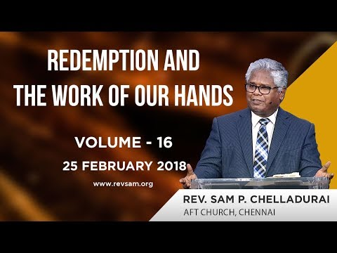 Redemption and The Work of our Hands (Vol 16) - All of life is God's!