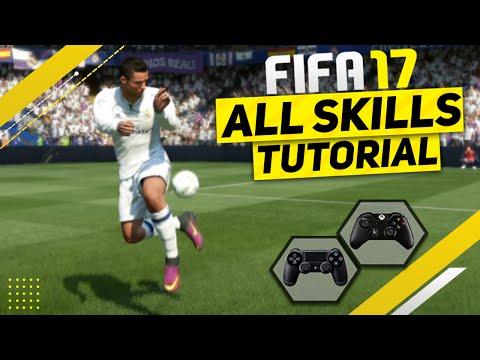 FIFA 17 All Skills Tutorial + SECRET Skills - NEW Skill Moves & UNLISTED Skills / Xbox & Playstation