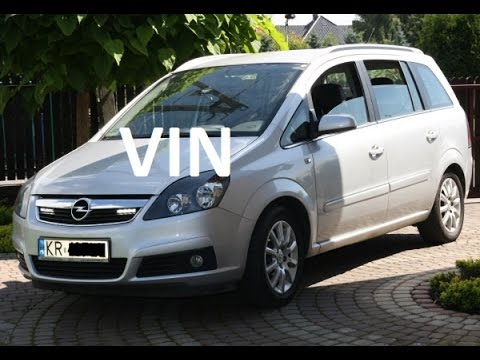 How To Read Vin On Opelvauxhall Zafira B 2005 2014 Youtube