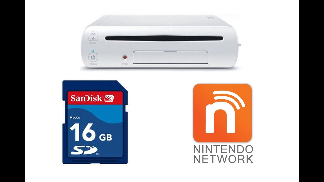 How to Save Wii U Games to SD Card, Wii U Bricking - YouTube
