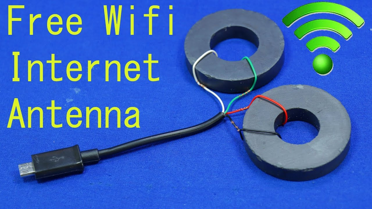 Free WiFi Internet Strong Signal Antenna any iPhone get free WiFi first  signal at home WiFi free