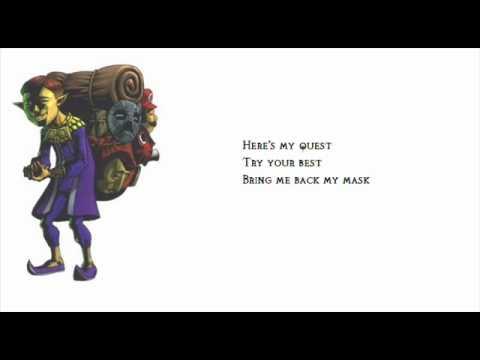 Zelda Lyrics: Song of Healing