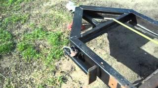 Garden Tractor Trailer Part 1.