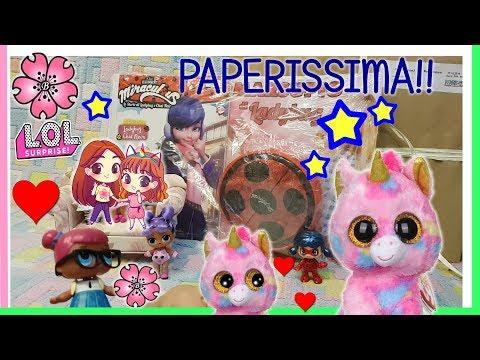 PAPERISSIMA LOL SURPRISE: LADYBUG  pack Surprise TY e LOL!!  By Lara e Babou