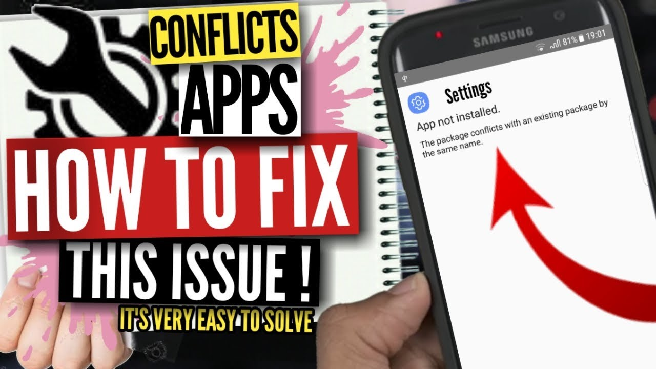 App not installed Existing Package Fix Only for Galaxy S7/S7 Edge | S8/S8+  | Note8, S9/S9+