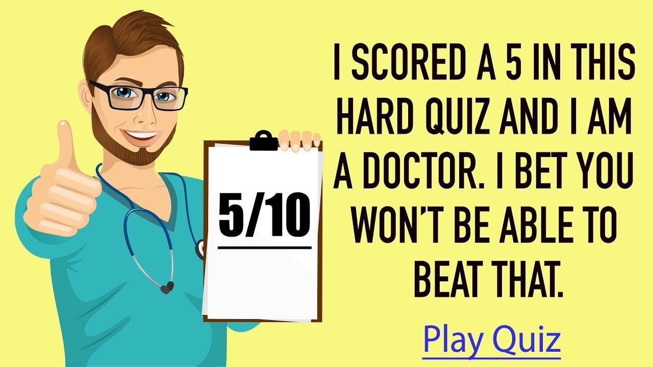 Medical Quiz - 10 hard questions