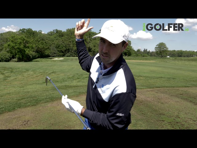 Quick Tip with Niall Kearney - Turn the right hip in the backswing