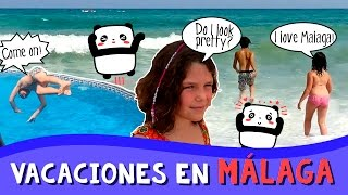 VLOG de VACACIONES I * ¡Vacaciones en MÁLAGA! thumbnail