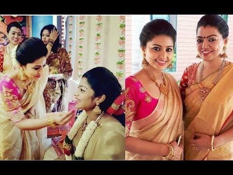 Actress Sneha At Her Friend Baby Shower Function Ll Sneha Ll Tollywood