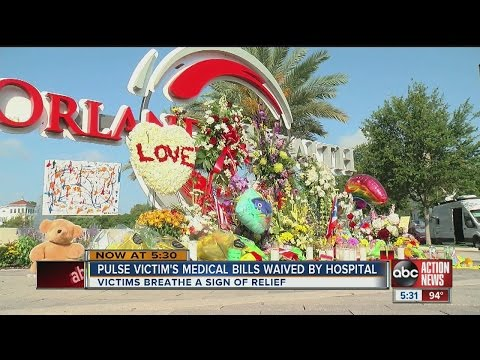 Orlando hospitals won't bill Pulse victims