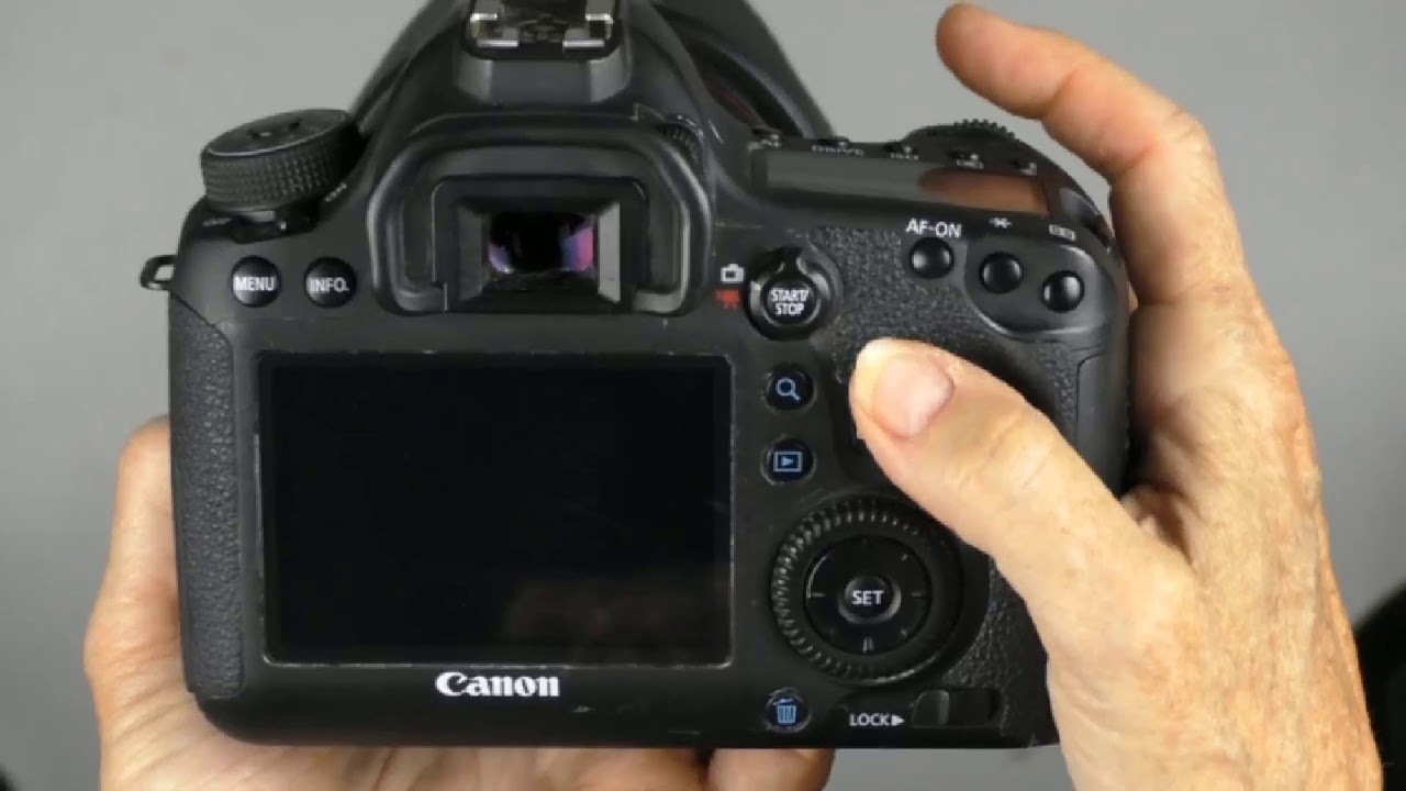 How To Change Shutter Speed On A Canon 6d Youtube