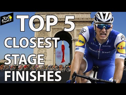 Top 5 closest stage finishes in Tour de France history | NBC Sports