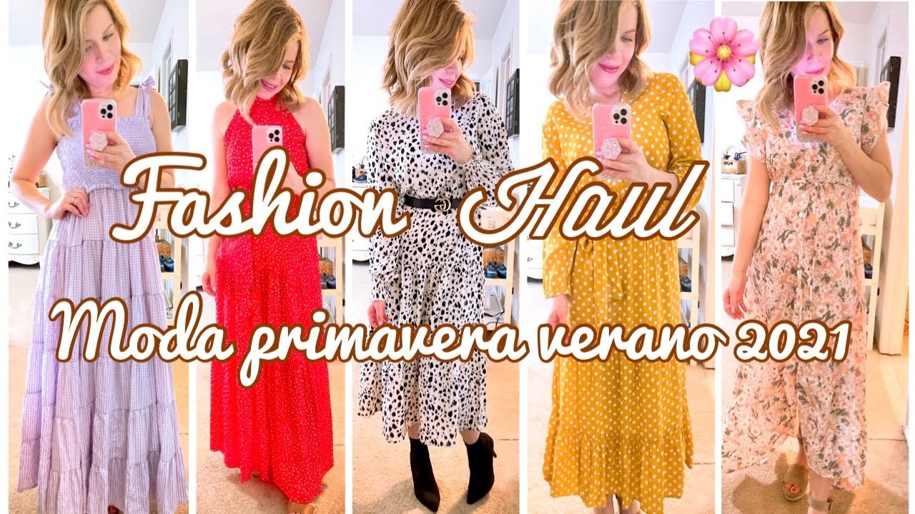Vestido Hermosos de Moda 😍 ME PRUEBO TODO. Tienda Soulmia. Primavera verano 2021 TRYON HAUL. bello!
