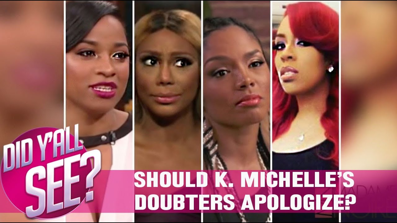 Who was k michelle dating that beat her up