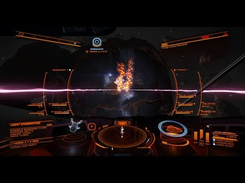 Elite Dangerous | Python | Getting Started with Mining