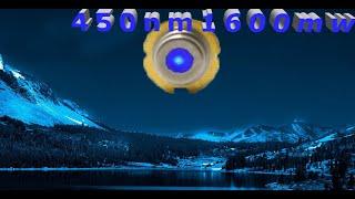 Обзор лазерного диода 450nm 1.6 Вт 1600 МВт +комплект