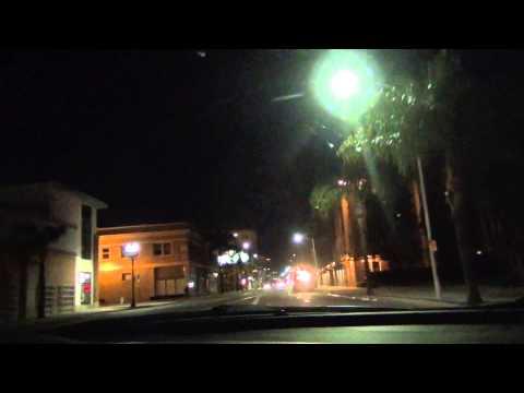 Driving in Santa Ana California 2015