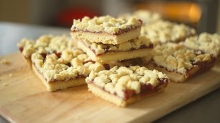 Pb&j Shortbread Bars - Baking Building Blocks